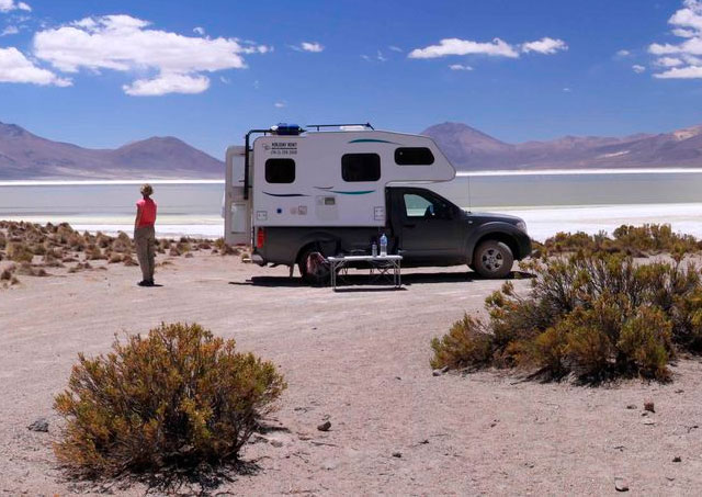 Rent a camper in chile