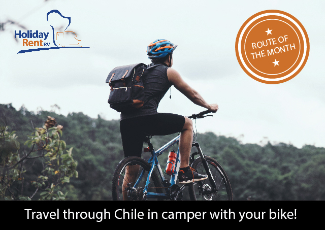 Travel through Chile in a camper, bring your bike!