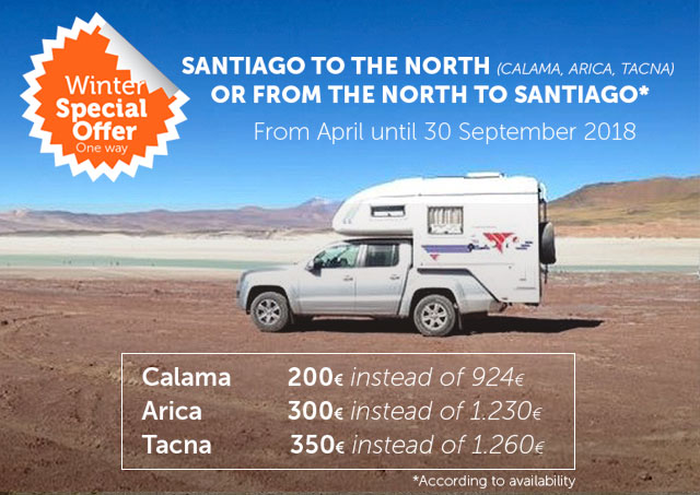 Winter Offer in Camper Rental